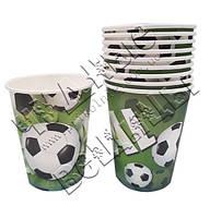 Бумажные стаканчики Футбол(уп.10шт)