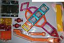 Конструктор магнітний будтехніка 87 деталей аналог Magformers LT 6001, фото 4