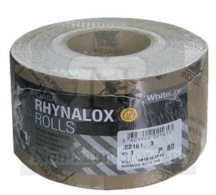 Наждачная бумага INDASA RHYNALOX ROLLS (WHITE LINE) рулон 115 мм/50м