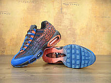 Кроссовки мужские Найк Nike Air Max 95 Doernbecher Red/Blue/Black. ТОП Реплика ААА класса., фото 3
