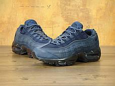 Кроссовки мужские Найк Nike Air Max 95 'Obsidian & Black'. ТОП Реплика ААА класса., фото 3