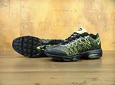 Кроссовки мужские Найк Nike Air Max 95 Ultra Jacquard Green/Black . ТОП Реплика ААА класса., фото 3
