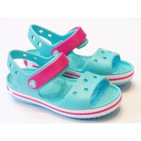 ad7fc5b70f8d1 Детские босоножки Crocs Crocband Sandal Kids в размере J3 - All brands -  магазин игрушек