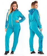 Спортивный женский костюм большого размера недорого в интернет-магазине Украина Россия Фабрика моды р. 50-56
