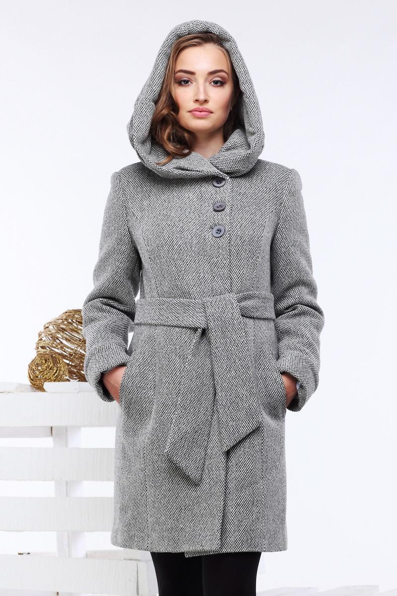 Женское Пальто С Капюшоном Фото 243a35c987f10