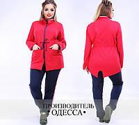 Спортивный женский костюм большого размера недорого в интернет-магазине Украина Россия Фабрика моды р. 48-54