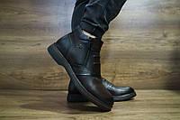 Мужские зимние ботинки с нат.кожи Сevivo 10465 размеры: 40 41 42 43 44 45