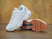 Кроссовки женские Найк Nike Air Max 95 White/Gum. ТОП Реплика ААА класса., фото 3