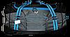 Отличная женская дорожная сумка черного цвета  VVWP-211233