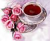 """Набор алмазной вышивки (мозаики) """"Утренний чай"""""""