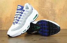 Кроссовки мужские Найк Nike Air Max 95 Purple/White/Grey. ТОП Реплика ААА класса., фото 2