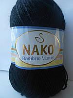 Пряжа Нако Марвел № 217 черный