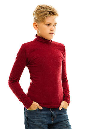 Гольф детский кашемир 028 бордо, фото 2