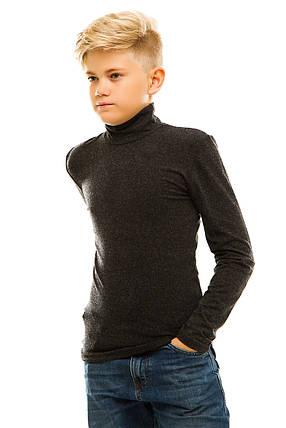 Гольф детский кашемир 028 черный, фото 2