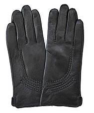 Женские перчатки из натуральной мягкой и эластичной кожи на плюшевой подкладке, фото 3