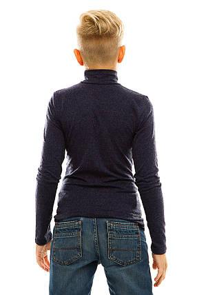 Гольф детский кашемир 028 темно-синий, фото 2