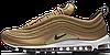 Кроссовки женские Найк Nike Air Max 97 Premium Gold