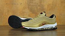 Кроссовки женские Найк Nike Air Max 97 Premium Gold , фото 3