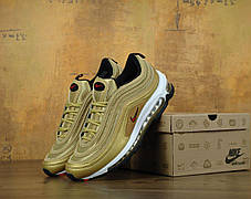 Кроссовки мужские Найк Nike Air Max 97 Premium Gold . ТОП Реплика ААА класса., фото 2