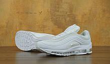 Кроссовки мужские Найк Nike Air Max 97 White . ТОП Реплика ААА класса., фото 2