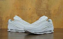 Кроссовки мужские Найк Nike Air Max 97 White . ТОП Реплика ААА класса., фото 3