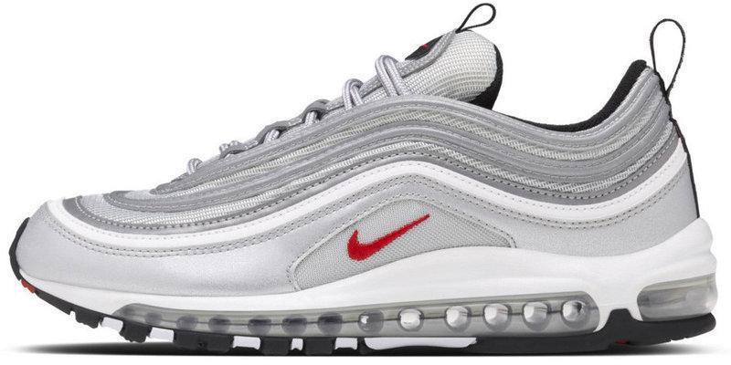 Кроссовки  Найк Nike Air Max 97 OG QS Metallic Silver