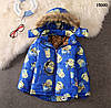 Демисезонная куртка Minions для мальчика. 110, 120, 130 см