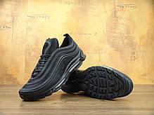 Кроссовки мужские Найк Nike Air Max 97 OG Triple black. ТОП Реплика ААА класса., фото 3