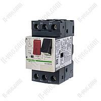 Автоматический выключатель защиты двигателя GV2ME08 2,5-4A Schneider Electric