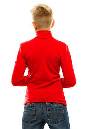 Гольф детский на флисе 026 красный, фото 2