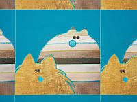 Обивочная ткань для мебели принт Pictures 4545 M-16