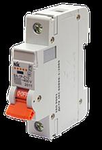 Автоматический выключатель NIK PRO ВА-1Р-C10 10А 6 кА  х-ка C