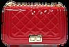 Превосходная женская стеганая сумочка YIRUI из искусственной кожи красного цвета DDW-005995