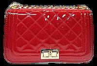 Превосходная женская стеганая сумочка YIRUI из искусственной кожи красного цвета DDW-005995, фото 1