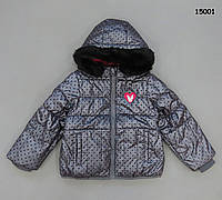 Демисезонная куртка для девочки. Маломерит.  98, 104, 110, 116, 128 см