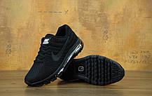 Кроссовки мужские Найк Nike Air Max 2017 Black. ТОП Реплика ААА класса., фото 3
