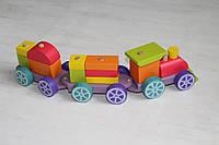 Деревянная игрушка Поезд LP-3
