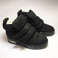 Женский демисезонный ботинок на липучке