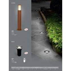 Уличный светильник столб NOWODVORSKI Horn 4906 (4906), фото 2