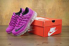 """Кроссовки женские Найк Nike Air Max 2016 """"Hyper/Violet/Black"""". ТОП Реплика ААА класса., фото 2"""