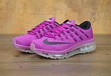 """Кроссовки женские Найк Nike Air Max 2016 """"Hyper/Violet/Black"""". ТОП Реплика ААА класса., фото 3"""