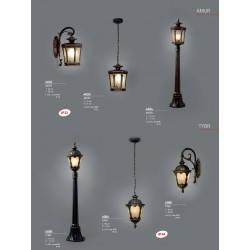 Уличный светильник столб NOWODVORSKI Tybr 4685 (4685), фото 2