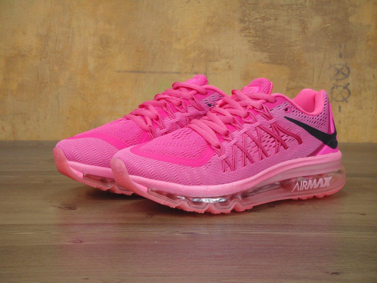 16c6fbb06 Кроссовки женские Найк Nike Air Max 2016 Women Pink Black: 1 260 грн ...