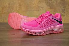 Кроссовки женские Найк Nike Air Max 2016 Women Pink Black. ТОП Реплика ААА класса., фото 3