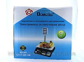 Весы ACS 50kg/5g + pole 208 Domtec (Только ящиком!) (4)