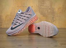 Кроссовки женские Найк Nike Air Max 2016 Carbon Grey Pink. ТОП Реплика ААА класса., фото 3