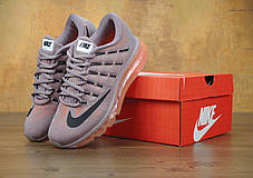 Кроссовки женские Найк Nike Air Max 2016 Carbon Grey Pink. ТОП Реплика ААА класса., фото 2