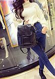 Рюкзак міський чорний, фото 2