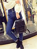 Рюкзак міський чорний, фото 3