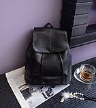 Рюкзак міський чорний, фото 4
